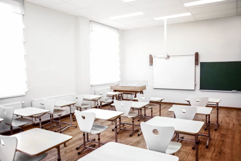 Désinfection d'établissement scolaire par UVC
